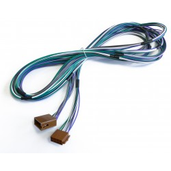 ISO-ISO altavoces extension cable, 5,0 m